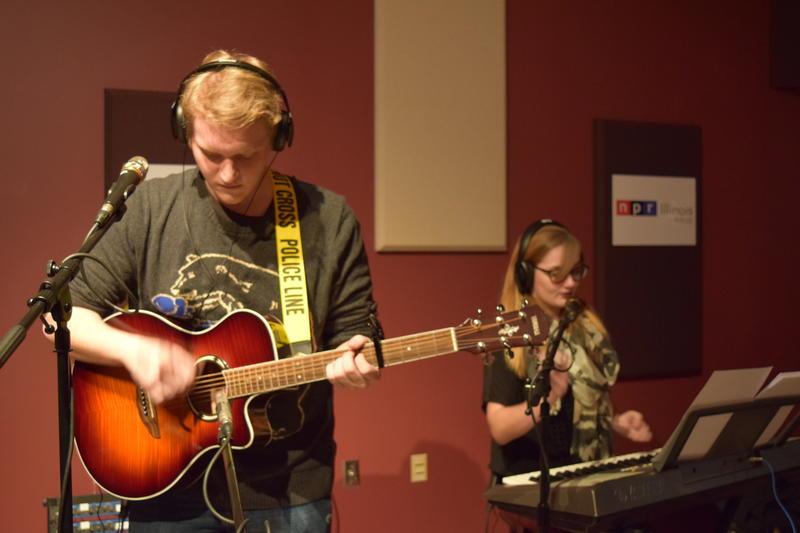 Geoff Leathers & Ellyn Thorson perform at NPR Illinois