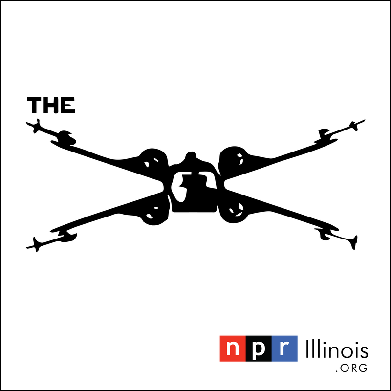 NPR Illinois' The X logo