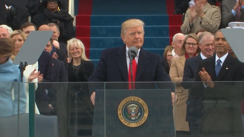 President Trump Inaugural Address