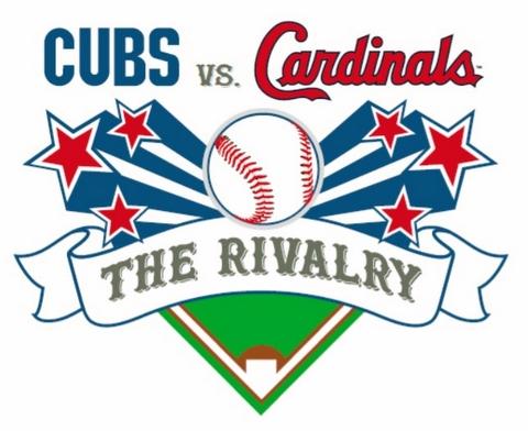 Cubs v. Cardinals The Rivalry logo