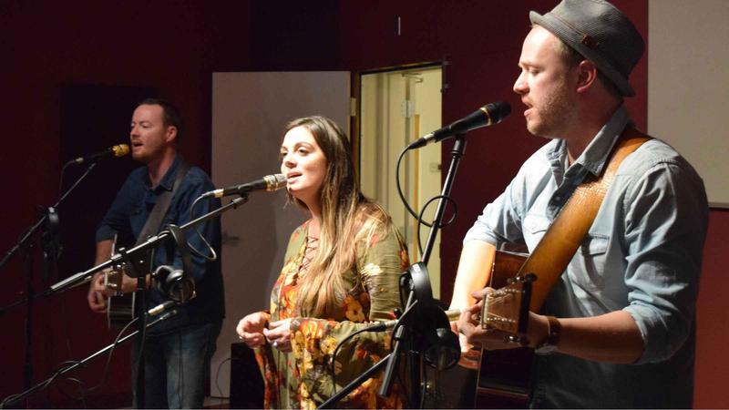 The Deep Hollow perform at NPR Illinois Suggs Performance Studio.