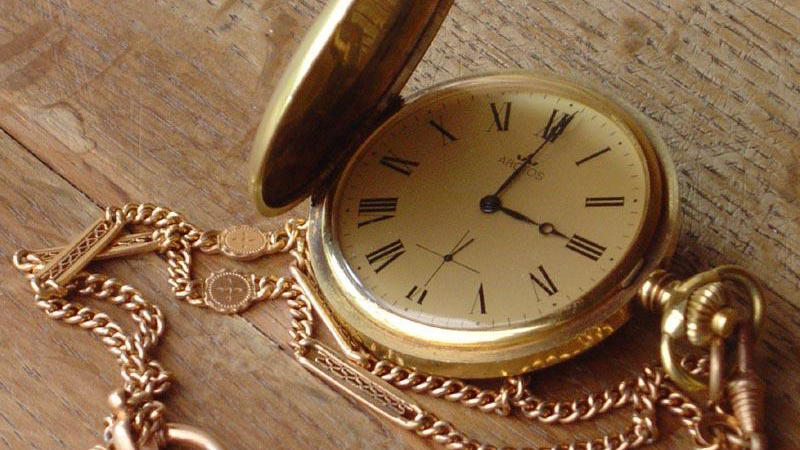 An old pocketwatch