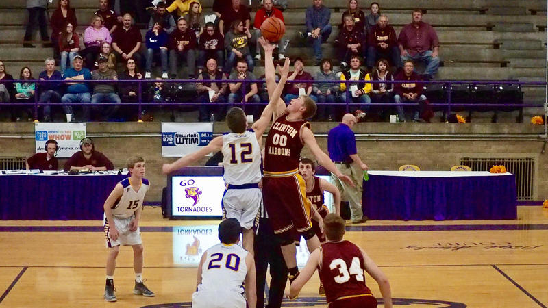 Taylorville tips off against Clinton in what could be their penultimate basketball season. Sports and other programs will be cut if voters reject an April 4 referendum.