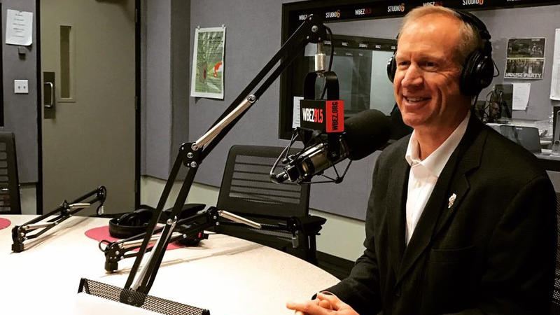 Gov. Bruce Rauner answered listeners' question on a recent WBEZ radio program.