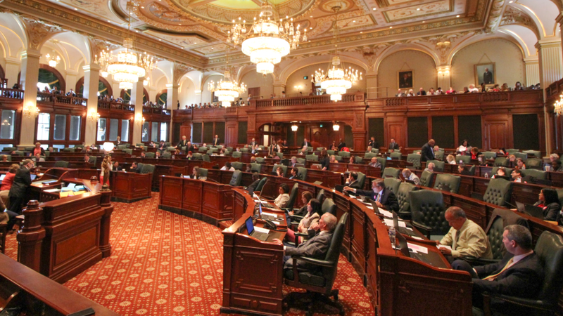 Illinois House Chamber
