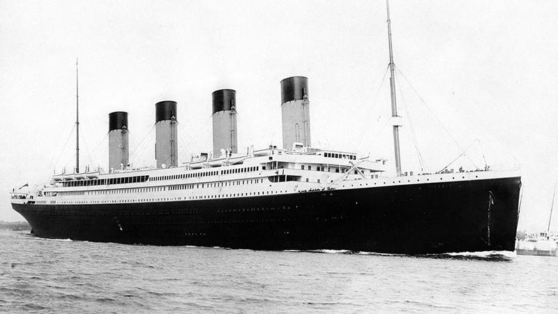 RMS Titanic 3.jpg More details RMS Titanic departing Southampton