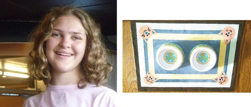 Victoria Kramer & her functional art, click to next photo for bio