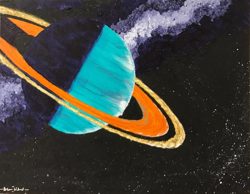 """Ringed Planet 1.0"" by Brian Willard"