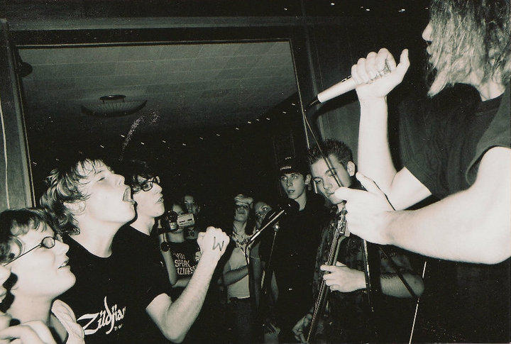 a show at The Space ca. 2003