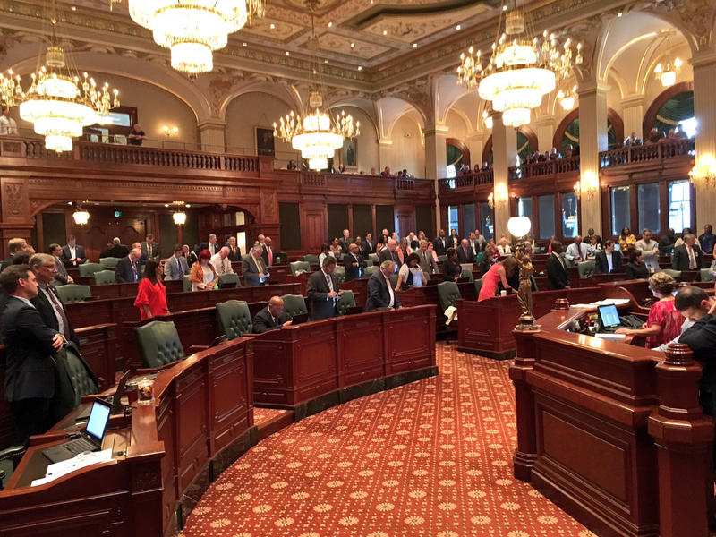 Illinois House floor