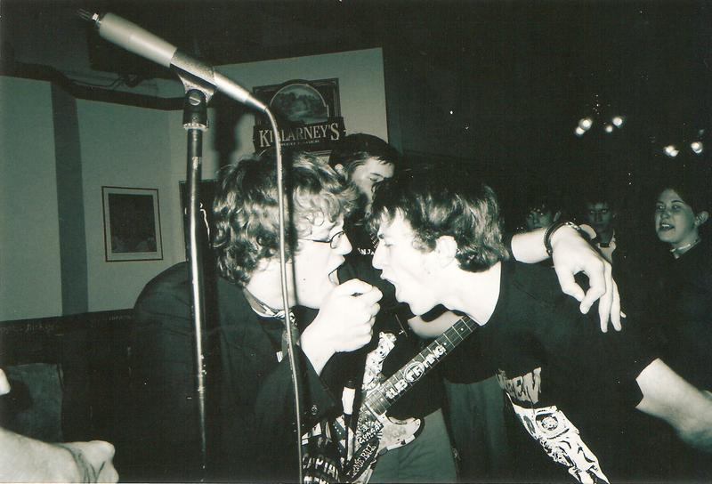 The Pacemakers play at Breadstretchers ca. 2004