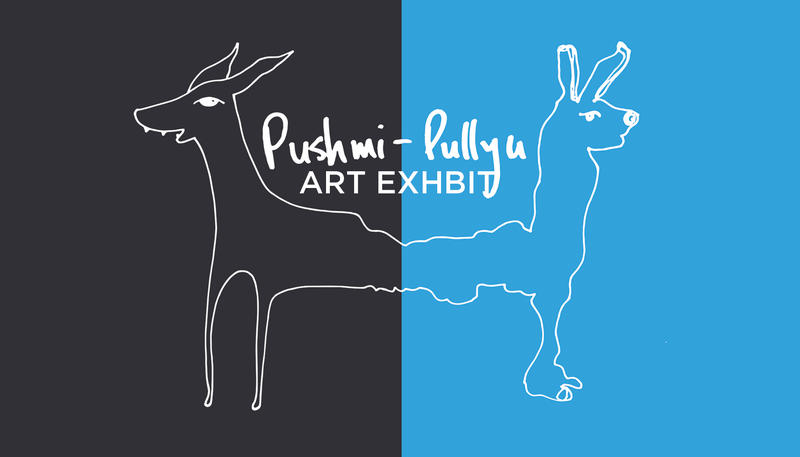 "The fictional Doctor Doolittle animal, the ""Pushmi-Pullyu."""