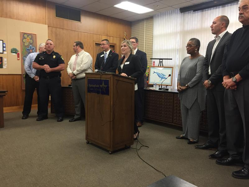 District 186 and SPD make remarks after four schools receive bomb threats.
