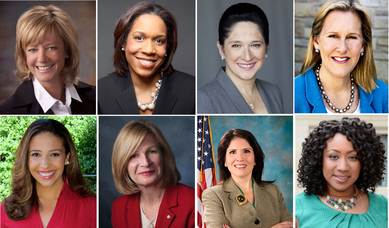 Several women running for statewide office.
