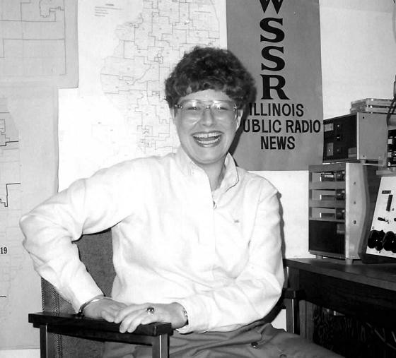Mary Frances Fagan at the statehouse bureau