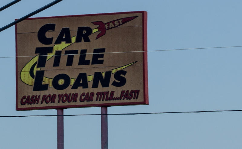 Some Illinois lawmakers want to limit interest rates on car title loans.  They say low-income borrowers who are already struggling to make ends meet end up with rates in the triple digits.