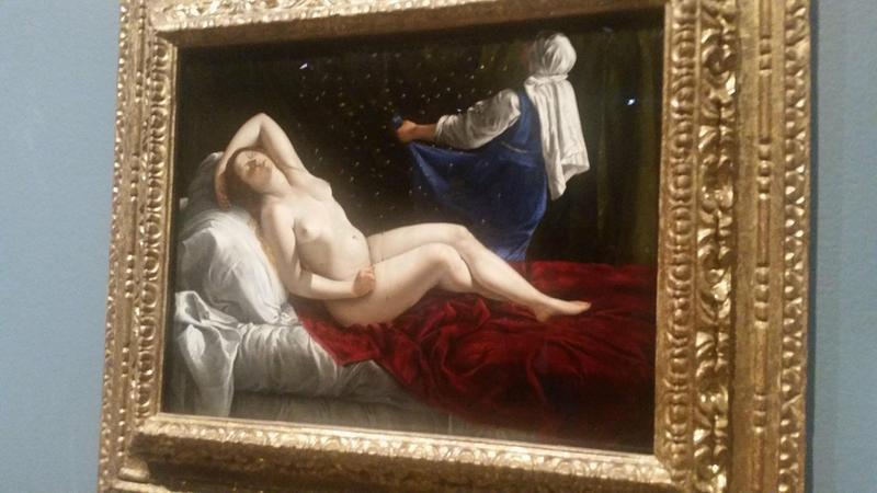 Skube's inspiration, Artemisia Gentileschi by Danae