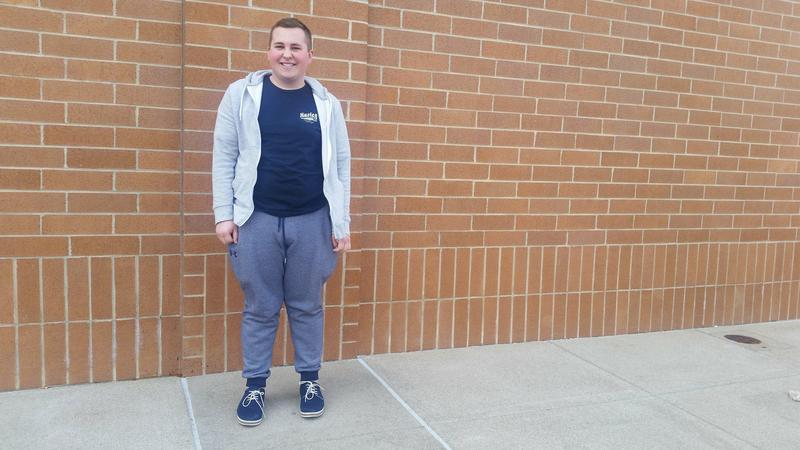 Colton Sherell goes to Rochester High School and plans to take part in walk-out activities Wednesday