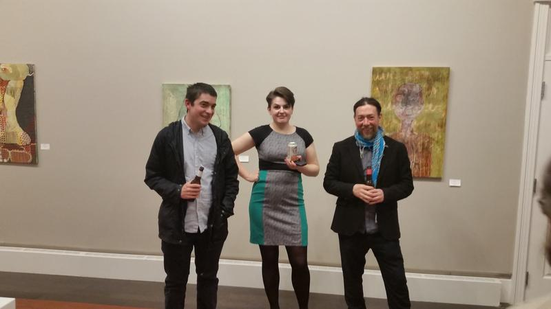 three artists in residence at their SAA Show