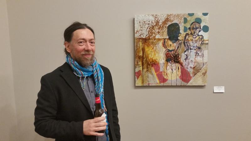 Gene Tanta with work