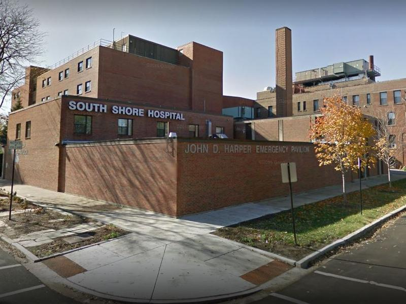 "South Shore Hospital on Chicago's south side, deemed one of Illinois' ""safety-net hospitals"" for Medicaid patients."