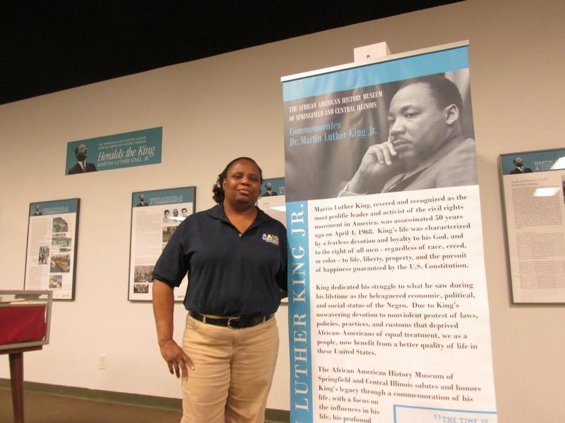 Doris Bailey coordinates for the Springfield and Central Illinois African American History Museum