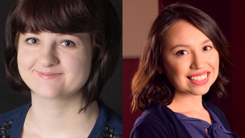Rachel Otwell and Daisy Contreras headshots