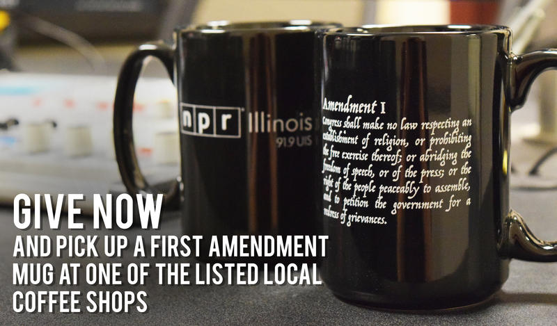 NPR Illinois First Amendment Coffee Mug