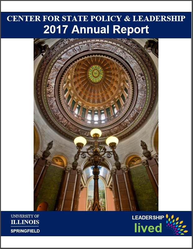 Center for State Policy and Leadership Annual Report Cover