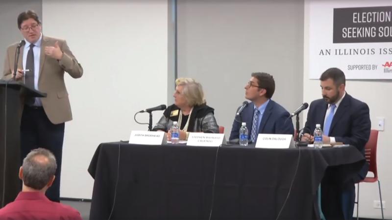 Panel at forum.