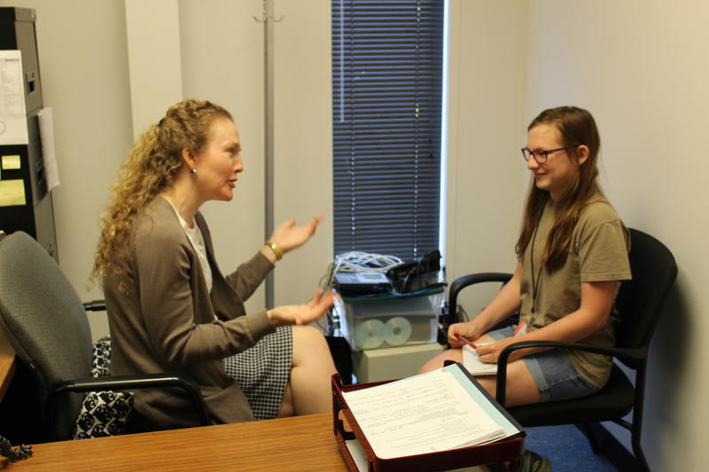 Carly Shank interviewed by Abigail Stalets