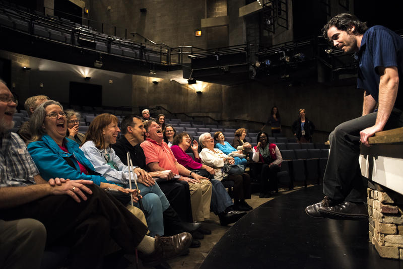 Photo by Leean Torske of Steppenwolf Theatre