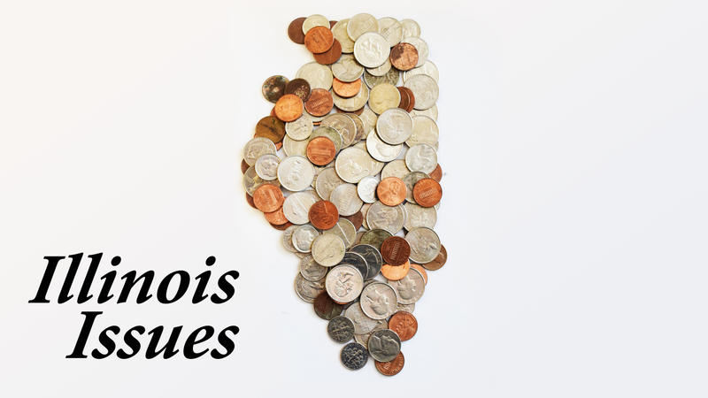 shape of Illinois in coins