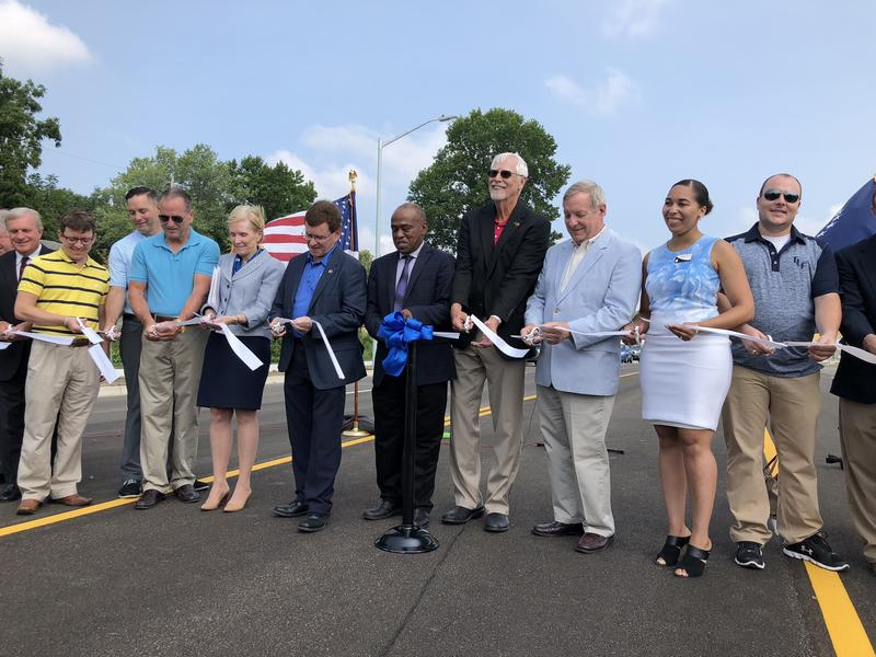 UIS Chancellor Susan Koch joined Springfield Mayor Jim Langfelder, U.S. Senator Dick Durbin and other city and state officials for the ribbon cutting ceremony Saturday.