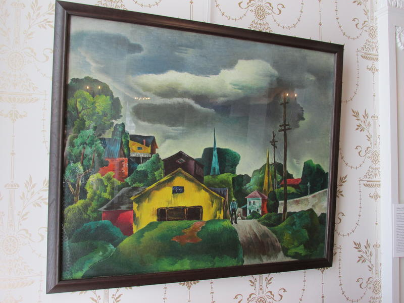 Outskirts of Galena by William S. Schwartz, 1938