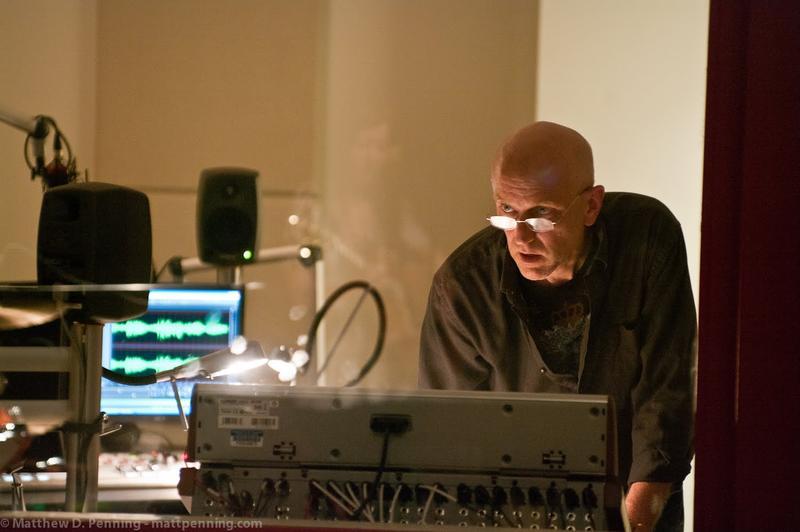 Greg Manfroi at the Studio F board