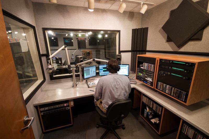 Studio D wideshot with Sean Crawford