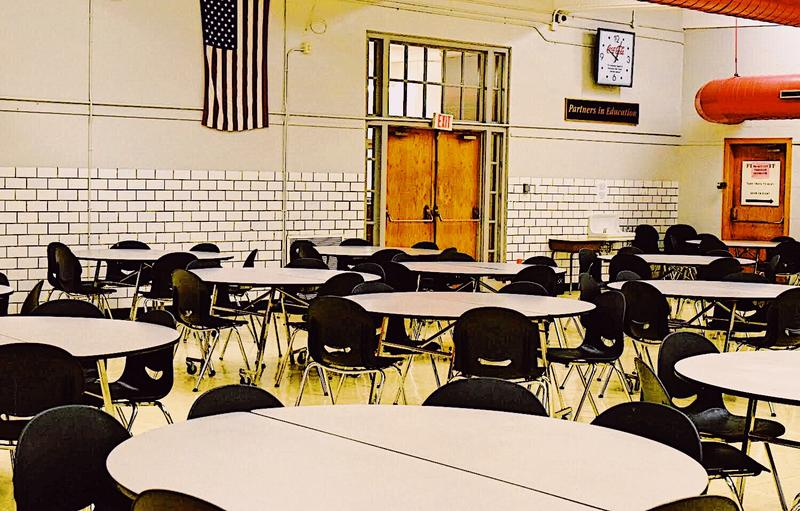 Springfield High School cafeteria