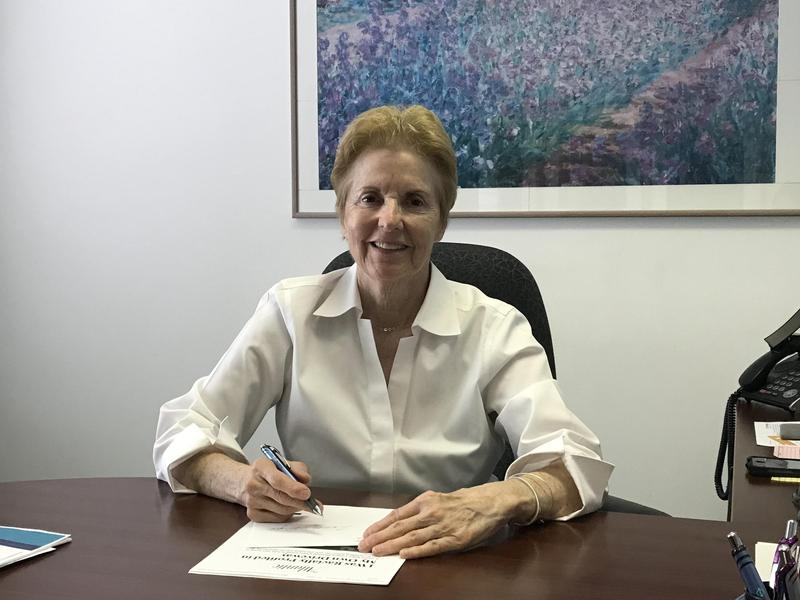 Polly Poskin, executive director of the Illinois Coalition Against Sexual Assault