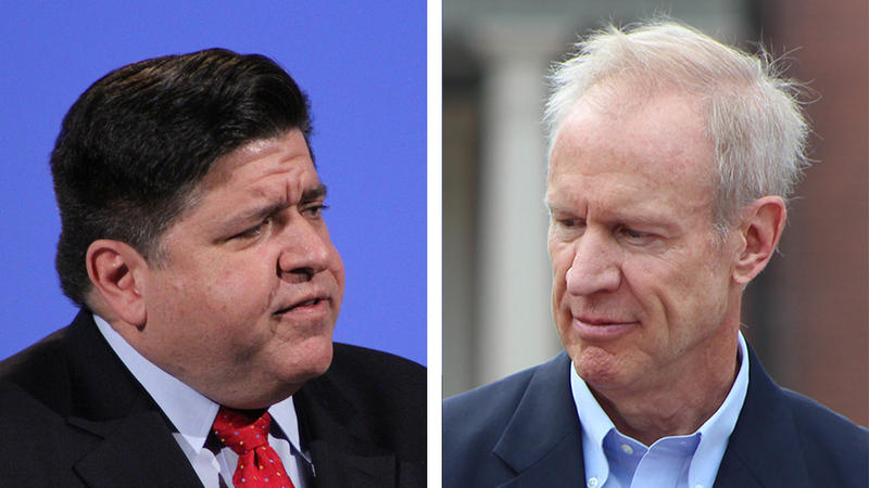 Pritzker and Rauner