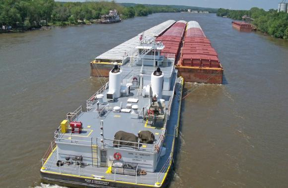 Shipping via barge is crucial for farmers near the Illinois River and across the Midwest, but many say U.S. river infrastructure is out of date.