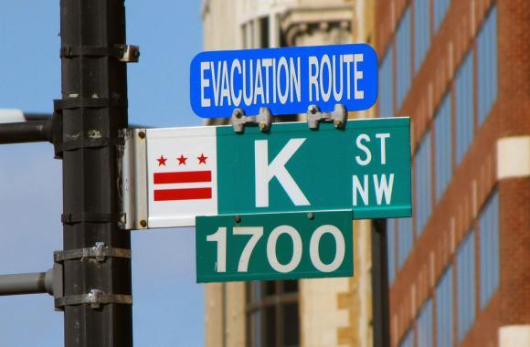 K Street in Washington D.C. has long been known as the home to powerful lobbyists. Hundreds of companies and groups lobbied to influence the 2014 Farm Bill. (Creative Commons)