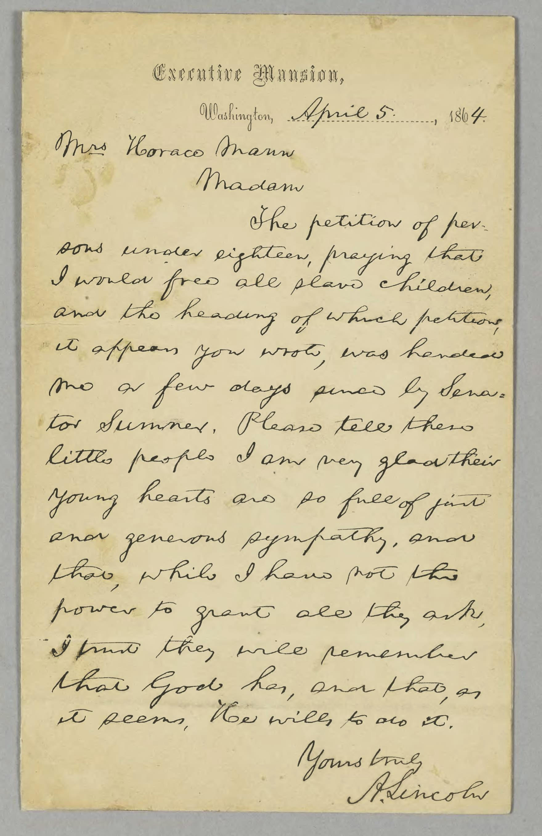 lincoln letters live on digitally
