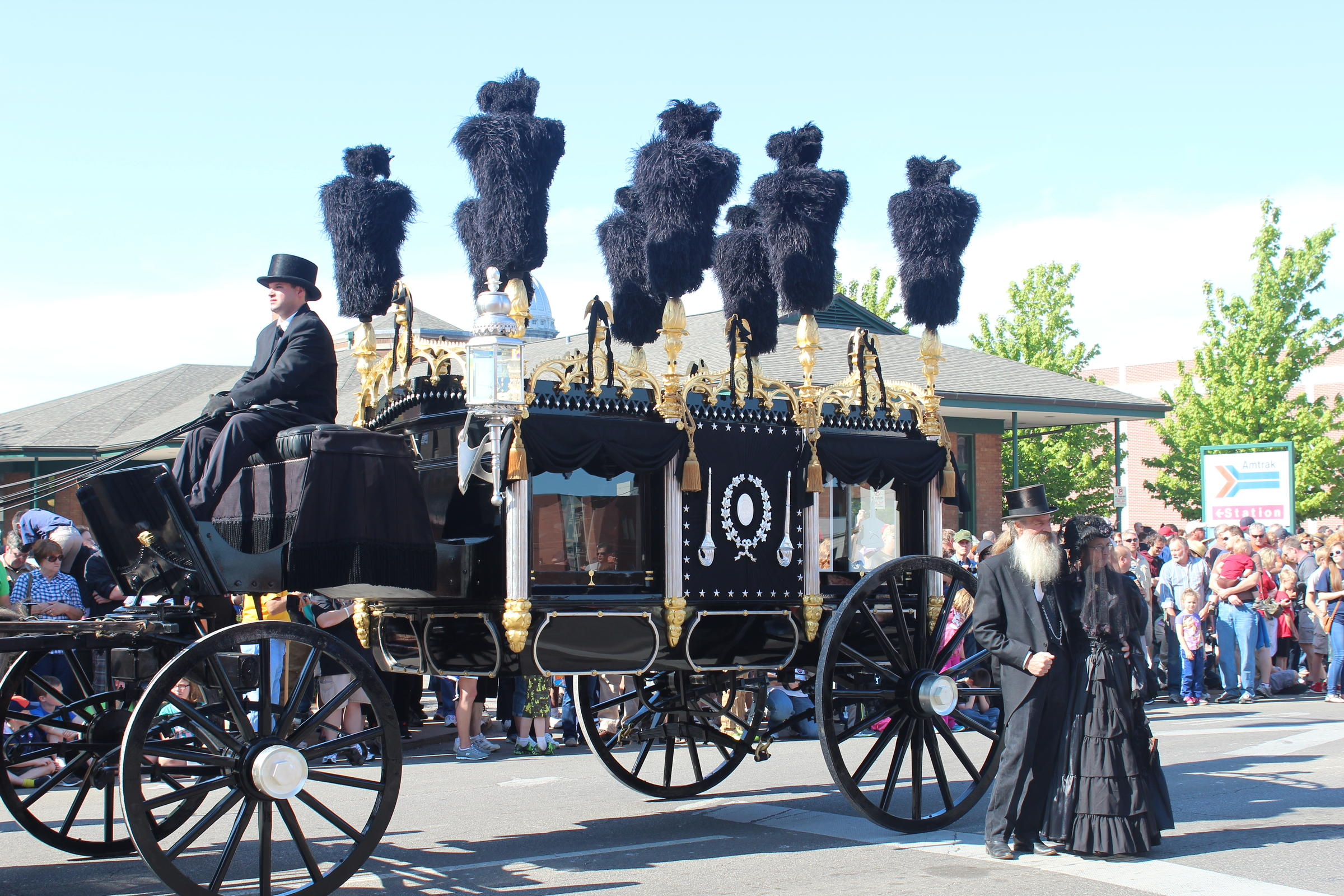 150 Years Later Lincoln Funeral Procession Retraced Npr Illinois