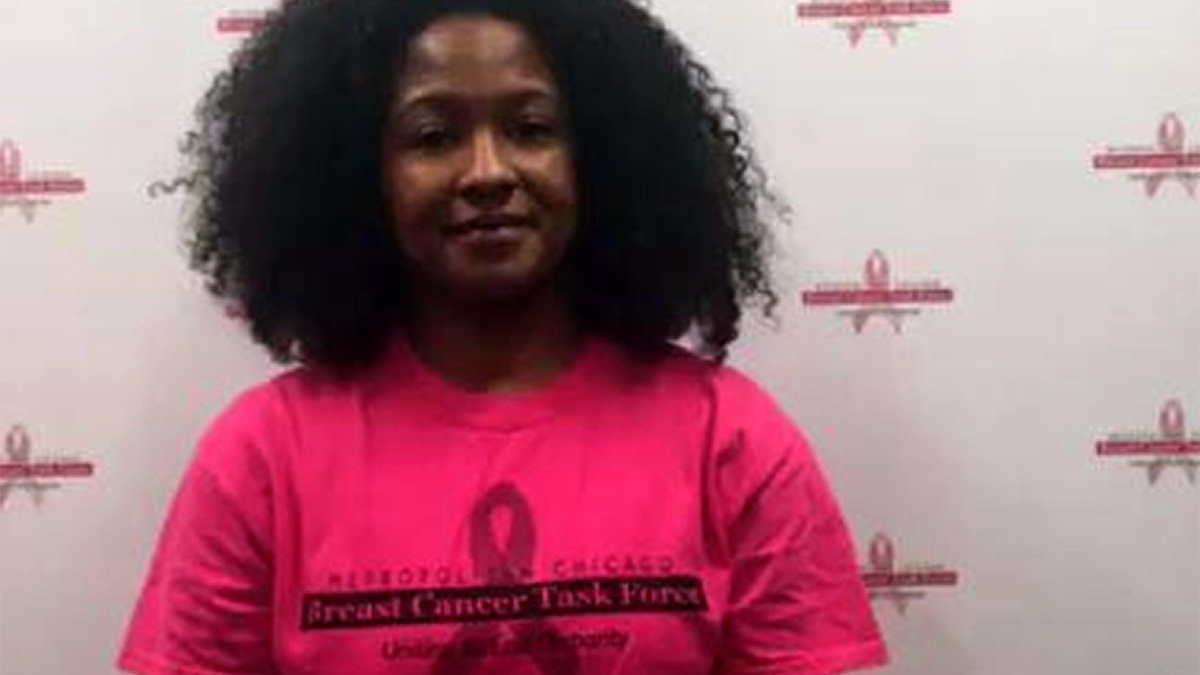 Teena Francois-Blue of the Metropolitan Breast Cancer Awareness Task Force,  held a dueling Facebook Live event following Gov. Bruce Rauner's Wednesday.