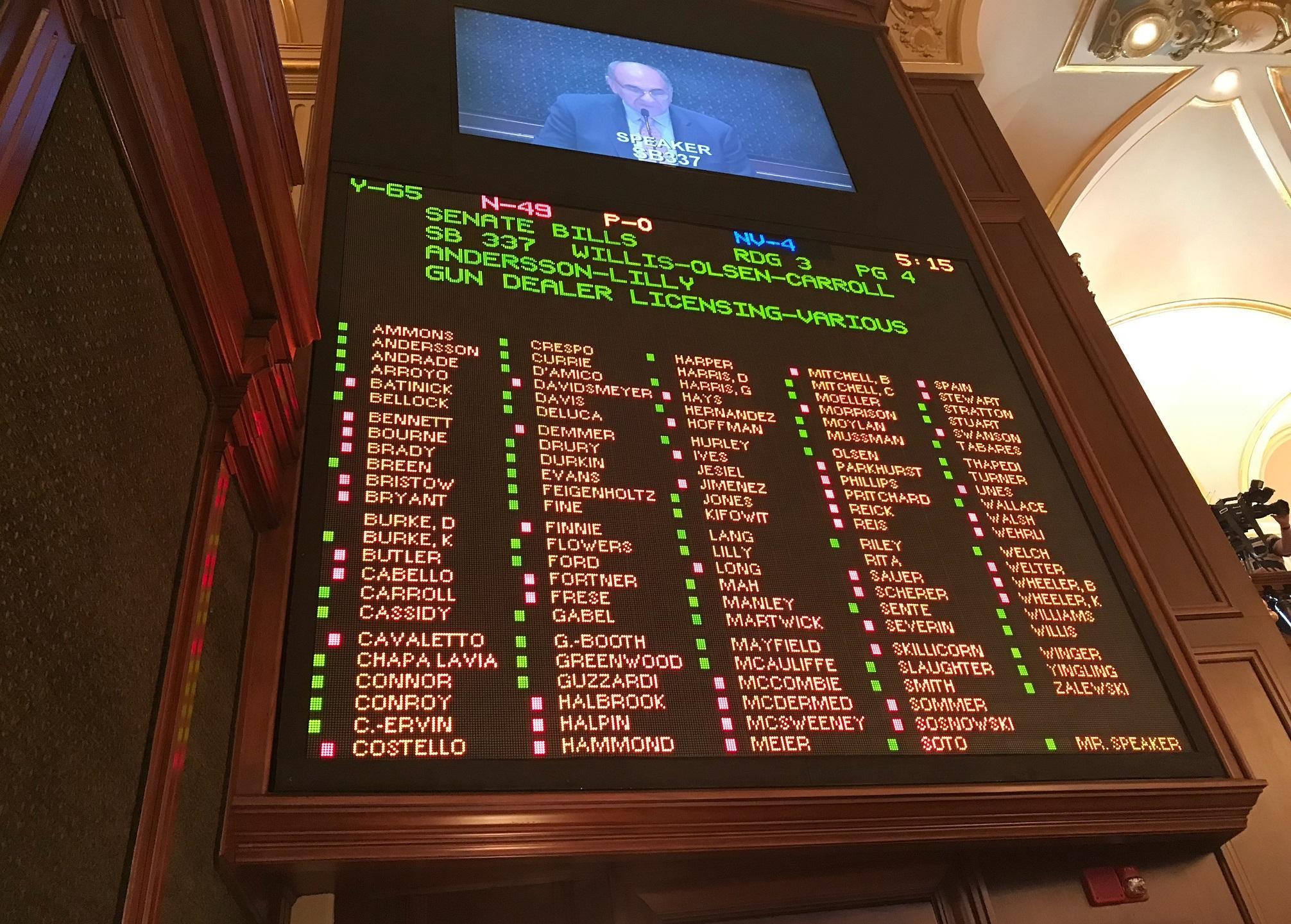 Revamped Gun Dealer Licensing Bill Okd By Illinois Statehouse Npr