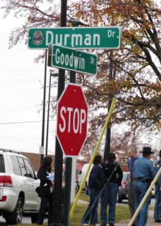 The former Hilo Street was renamed Durman Drive at a ceremony on Tuesday