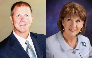 Tea Party Favorite Bill Johnson (L) Takes On GOP Mainstay Hilda Legg (R) In Tuesday's Primary.