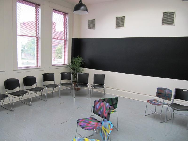 A classroom at Montessori High School