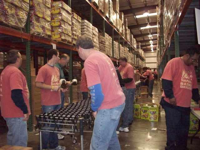 Basket Brigade at God's Pantry